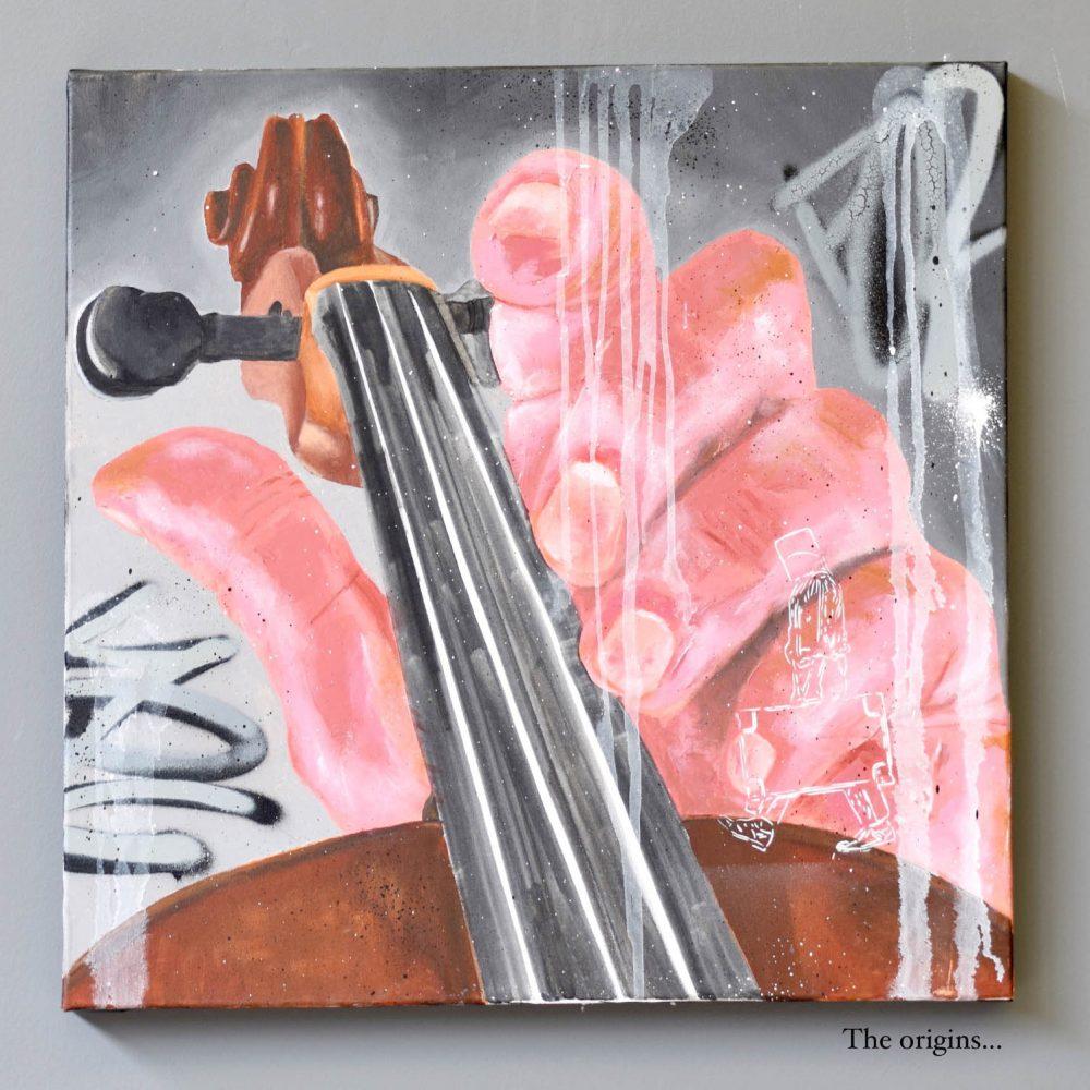 Peinture toile acrylique