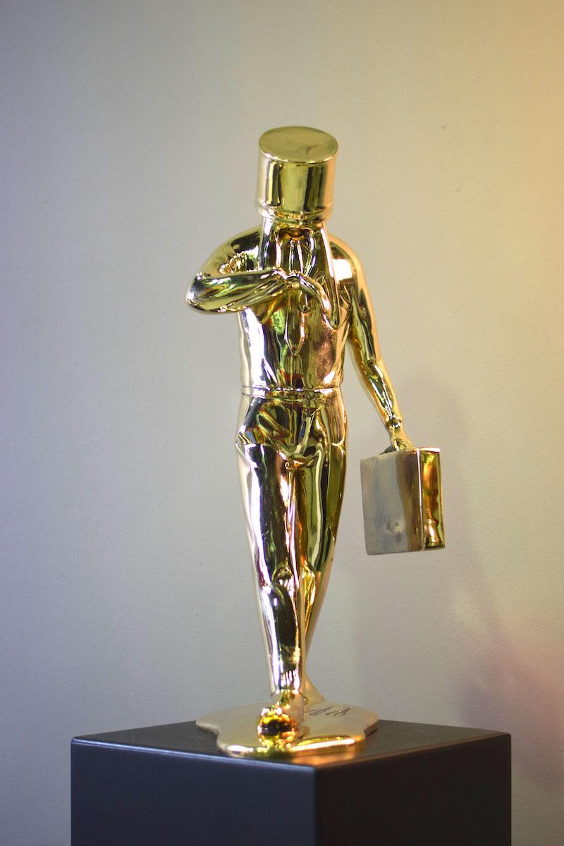 Business Man Bronze