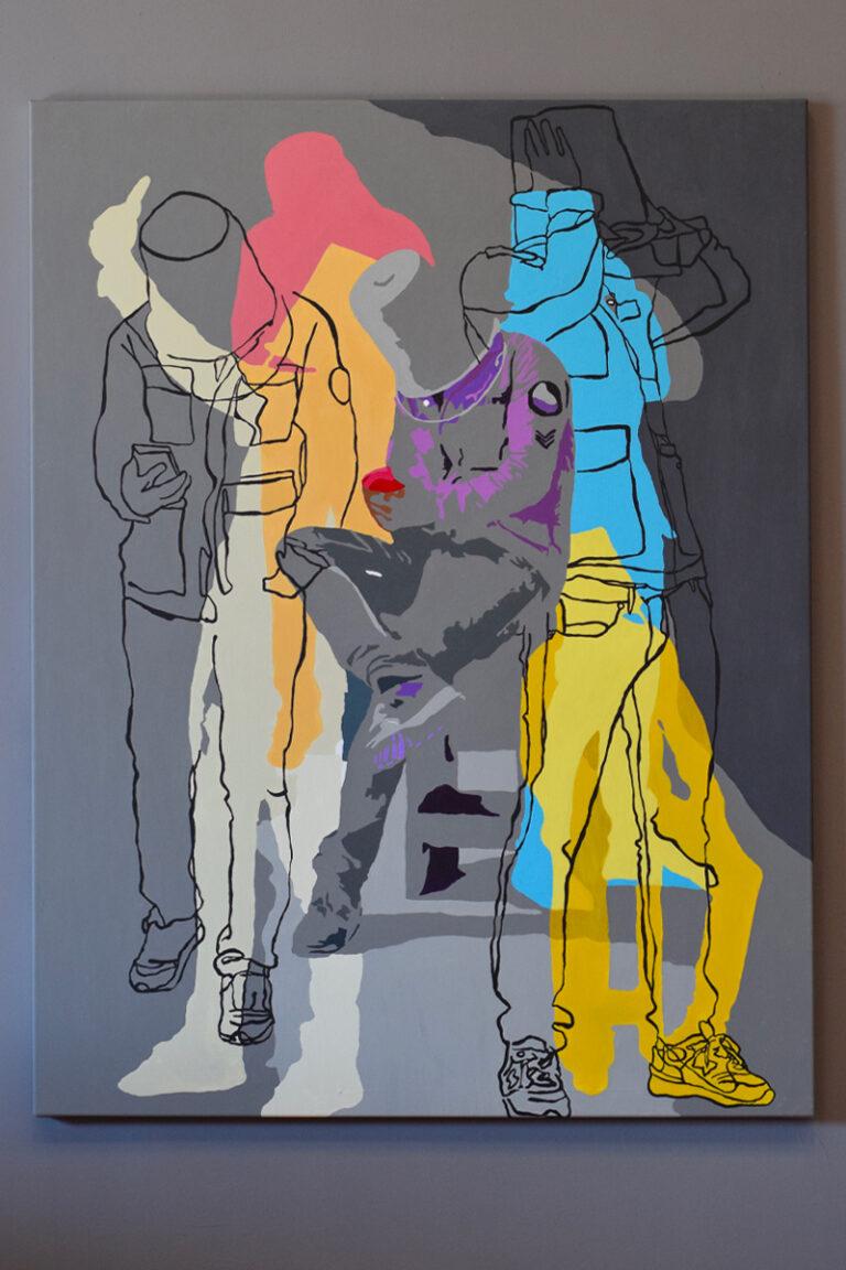 Peinture Acrylique David David